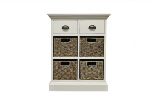 2 Drawer 4 Basket Unit